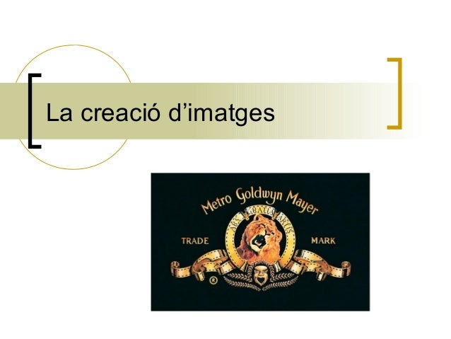 La creació d'imatges
