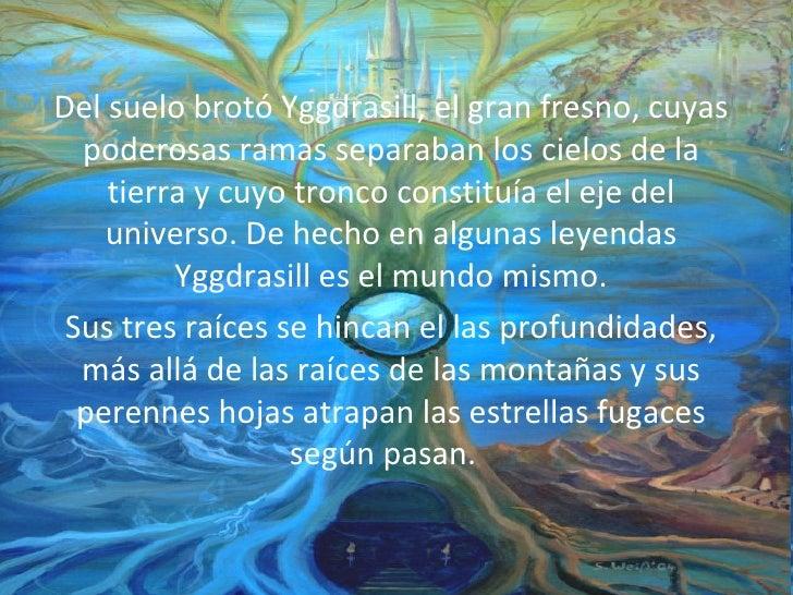 La creacion del universo segun la mitologia nordica for Como se creo el suelo