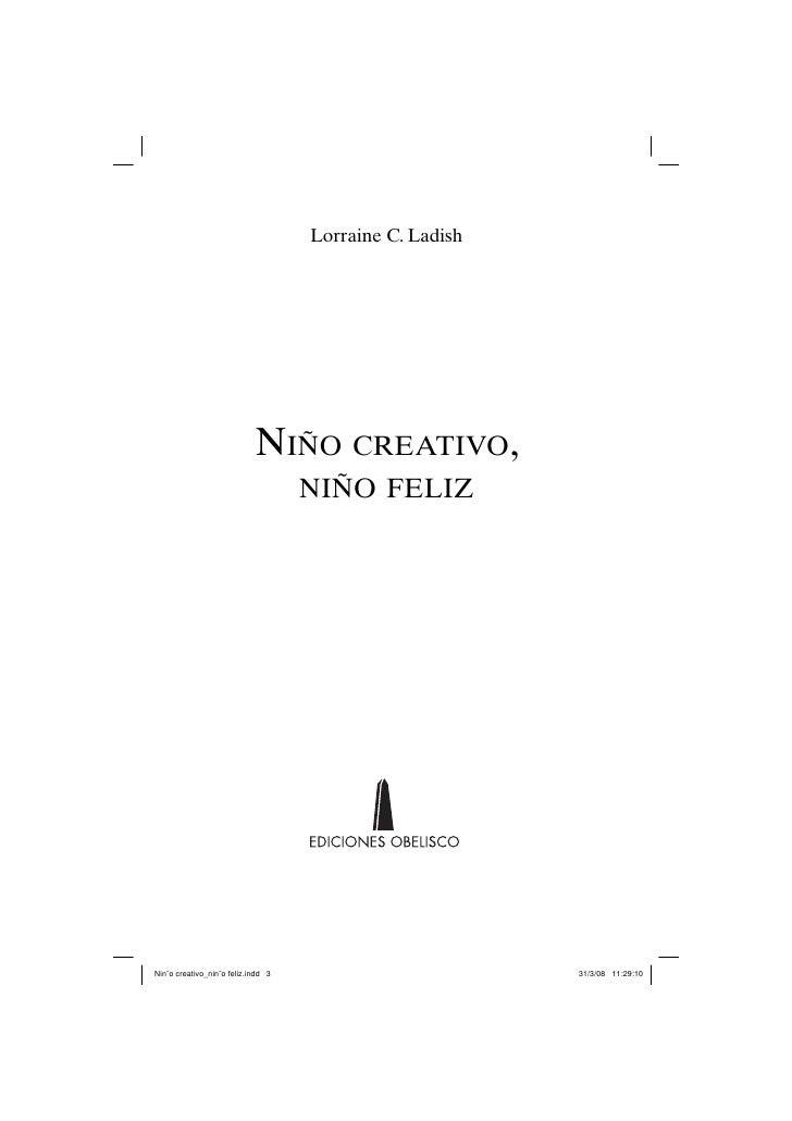Lorraine C. Ladish                            NIÑO CREATIVO,                                    NIÑO FELIZNiño creativo_n...