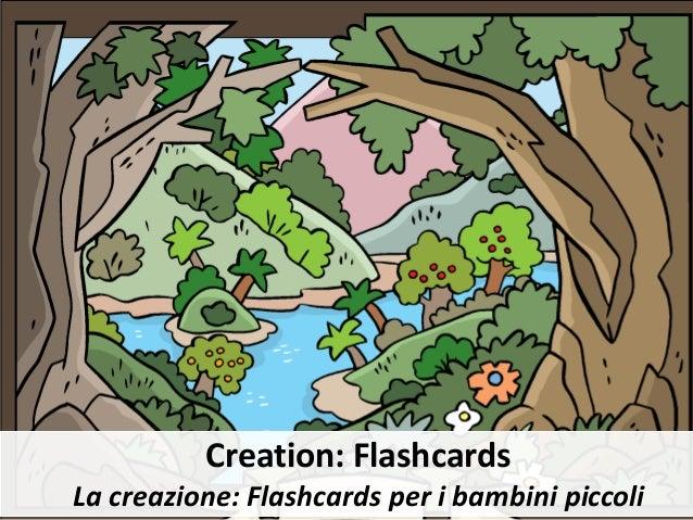 Creation: Flashcards La creazione: Flashcards per i bambini piccoli