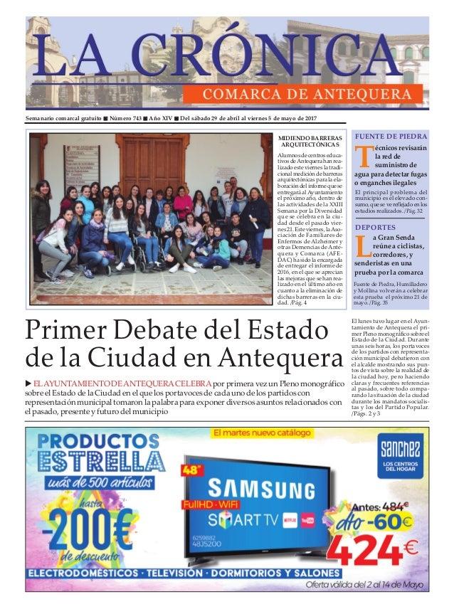 9fa5dbaf8 Semanario comarcal gratuito n Número 743 n Año XIV n Del sábado 29 de abril  al ...