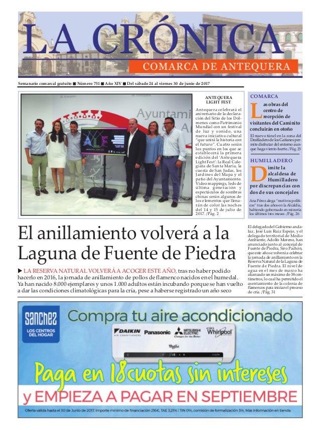 681725a9c644d Semanario comarcal gratuito n Número 751 n Año XIV n Del sábado 24 al  viernes 30 ...