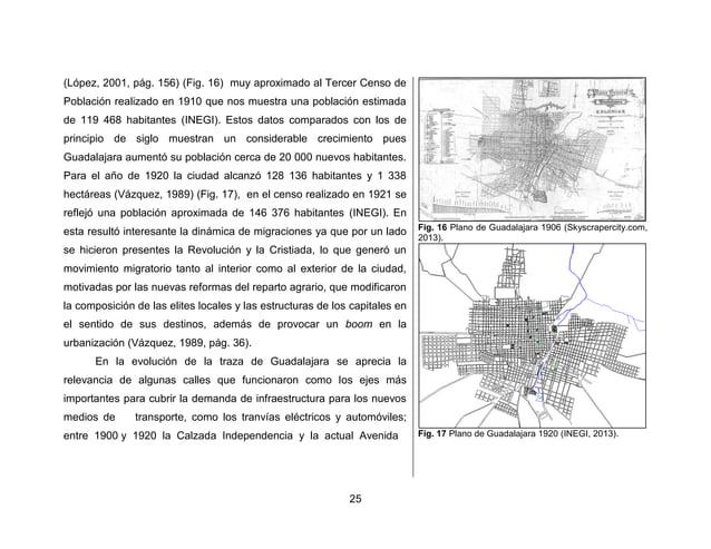 28  inspiración el plano que se realizó para la Ciudad de México (Junta General de Urbanización y Planeación del Estado de...