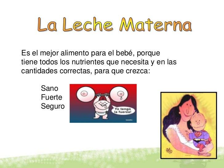 Lactancia materna resumen - Alimentos para producir leche materna ...