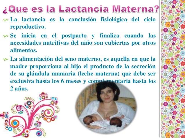 Lactancia Materna Slide 3