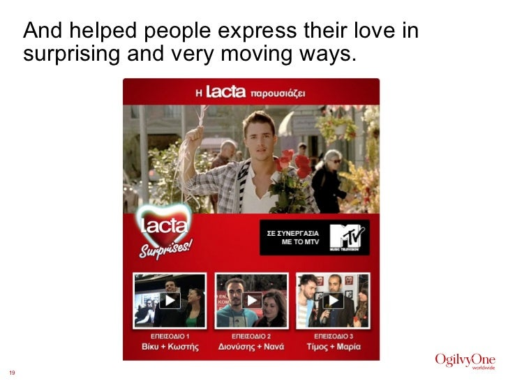 And helped people express their love in surprising and very moving ways.