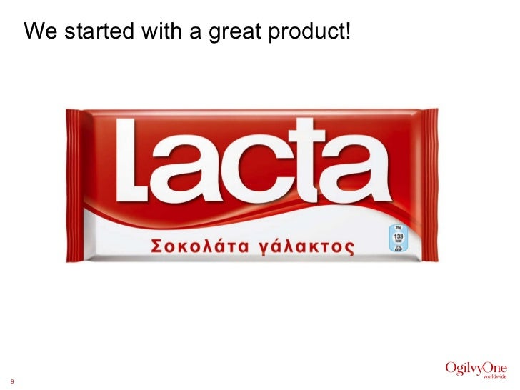 We started with a great product!
