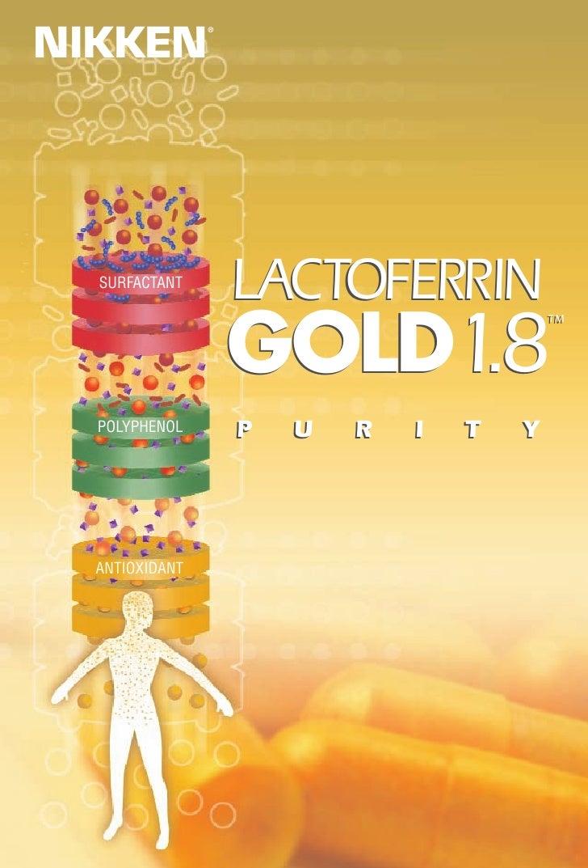 NIKKEN                 ®       SURFACTANT                     LACTOFERRIN                     GOLD1.8                     ...