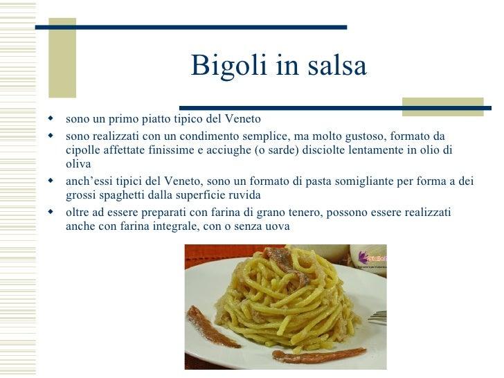 La cucina del Veneto (prezentacija iz talijanskog)