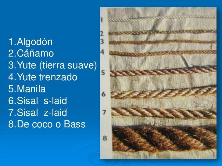 La cuerda - Tipos de cuerdas ...