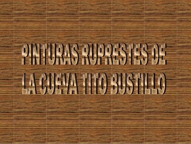 INDICE• La cueva de Tito Bustillo ………….. Pág. 3• Las pinturas prehistóricas ….........Pág. 4• Fotos de la cueva .............