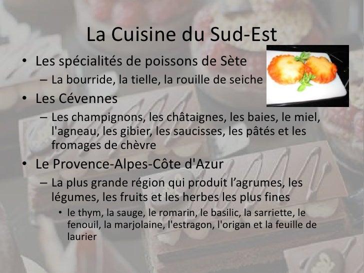 La cuisine de france for Agencement cuisine du sud