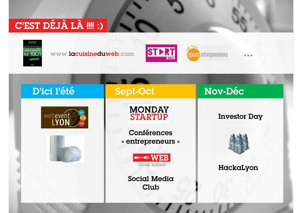 la cuisine du web pr 233 sentation de lancement 24 mai 2012