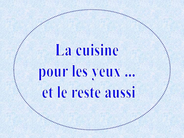 La cuisine pour_les_yeux.__et__