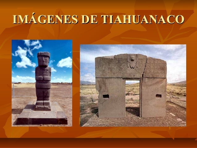 La cultura tiahuanaco Slide 3