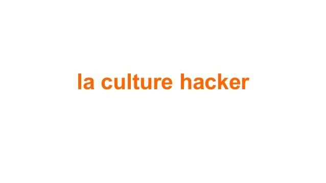 la culture hacker