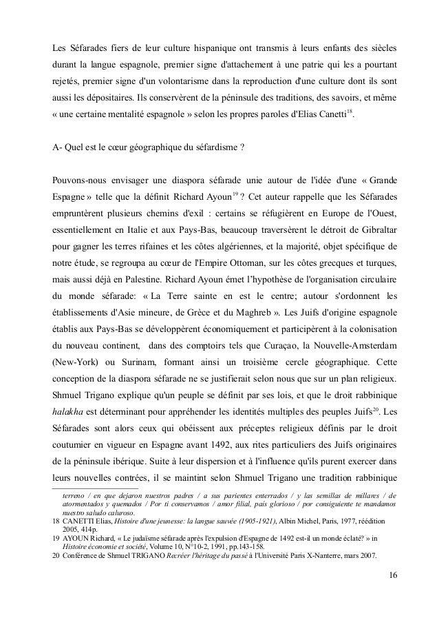 Les Séfarades fiers de leur culture hispanique ont transmis à leurs enfants des siècles  durant la langue espagnole, premi...