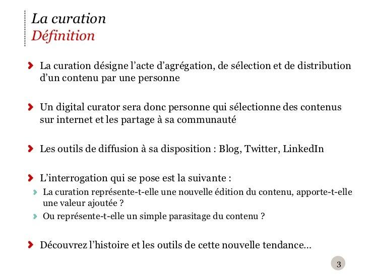 Etude de cas X-PRIME Groupe - La curation Slide 3
