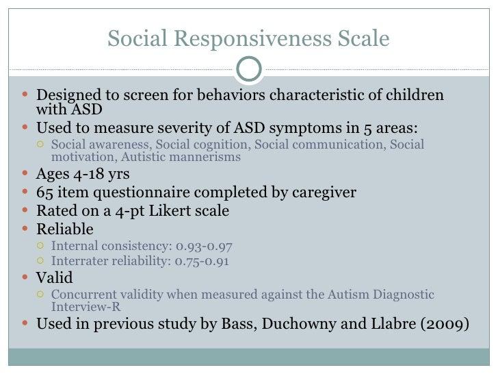 social responsiveness example