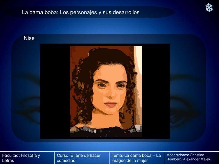 La Dama Boba Imagen De La Mujer