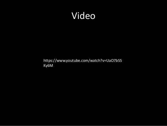 Video https://www.youtube.com/watch?v=UaO7bS5 Ky6M