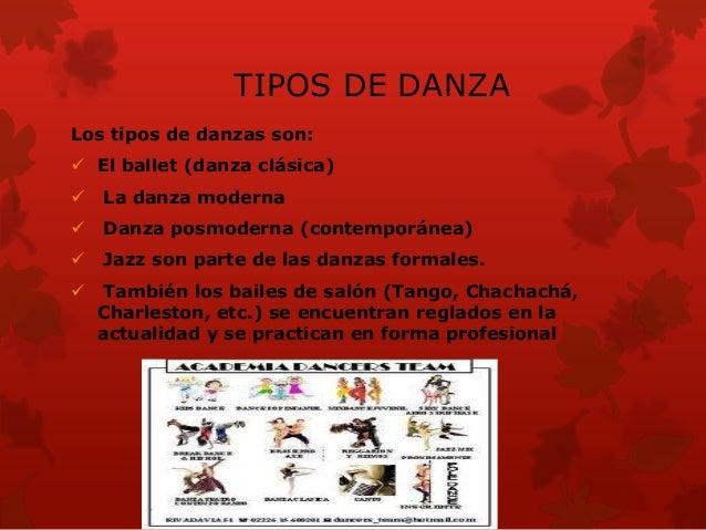 INFLUENCIA DE LA DANZA La influencia de una danza sobre los individuos, loasociamos con los cambios de los hábitos, mejor...