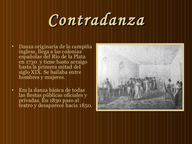 La danza en la época colonial  Slide 3