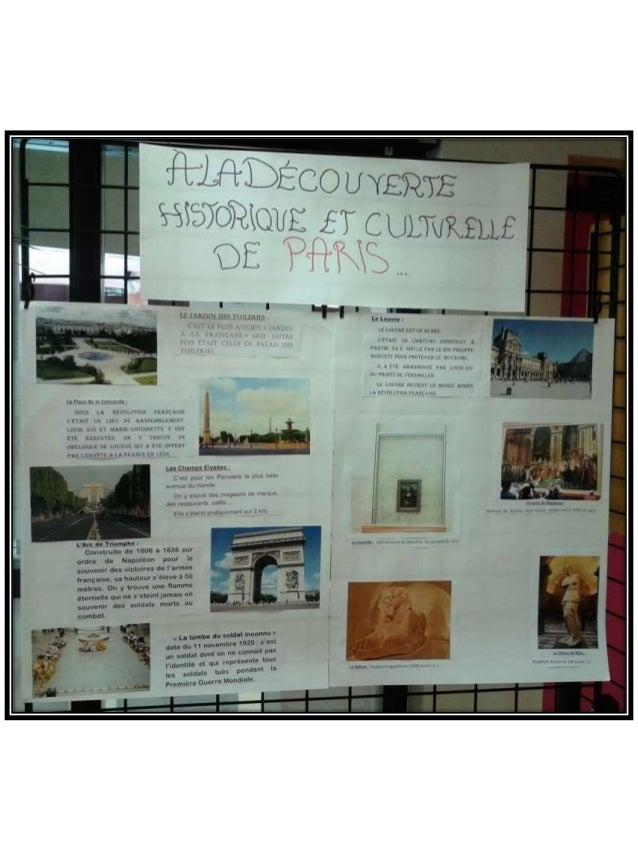 à La découverte historique et culturelle de Paris