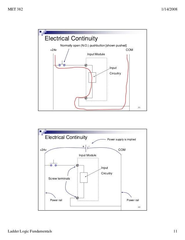 Ladder logic fundamentals plc tutorial 20ladder logic fundamentals 10 11 ccuart Choice Image