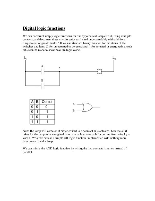 Ladder logic tutorial 5 digital logic ccuart Choice Image