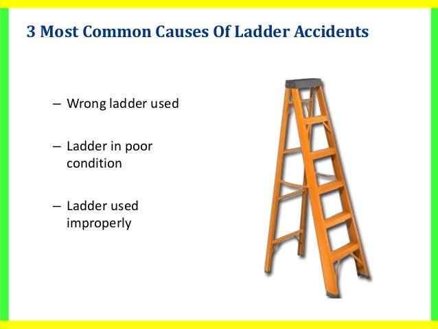 Bad ladder safety for Ladder safety tips