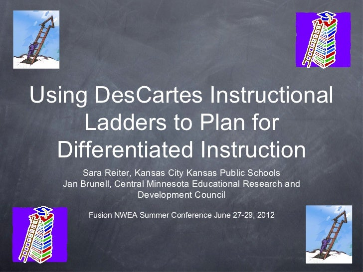 Using Descartes Instructional Ladders To Plan For
