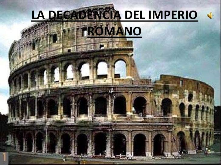 La decadencia del imperio romano (Daniel Dorrío)