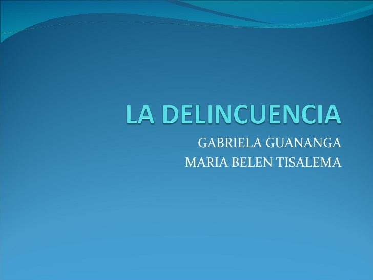 GABRIELA GUANANGAMARIA BELEN TISALEMA