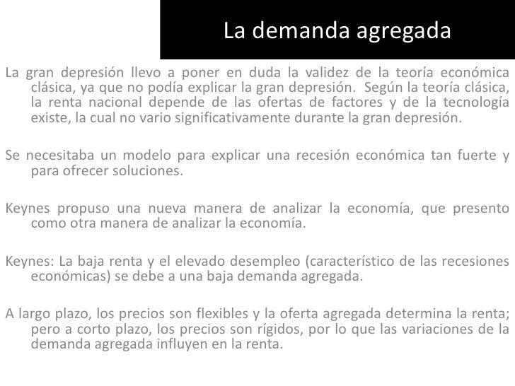 Clase 9. La demanda agregada I . Principios de Macroeconomía