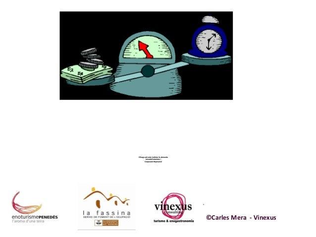 El llarg camí entre la oferta i la demanda Jornada Enoturisme i Cooperació Empresarial  ©Carles Mera - Vinexus