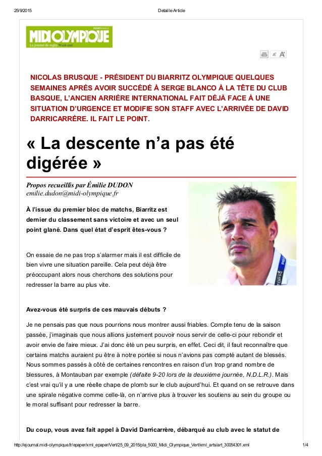 25/9/2015 DetailleArticle http://ejournal.midiolympique.fr/epaper/xml_epaper/Vert/25_09_2015/pla_5000_Midi_Olympique_Ver...