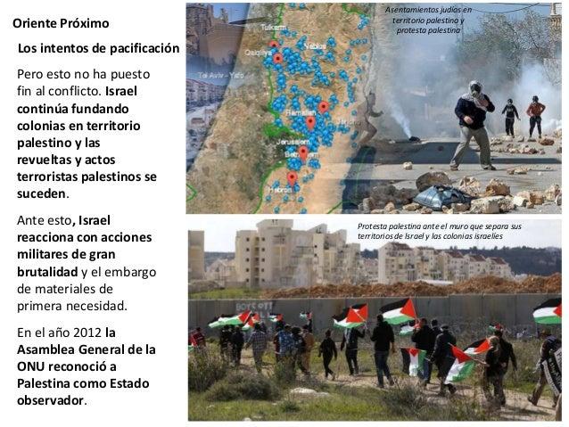 Muro construido por Israel separando Cisjordania del territorio de Israel y los nuevos asentamientos judíos en territorio ...