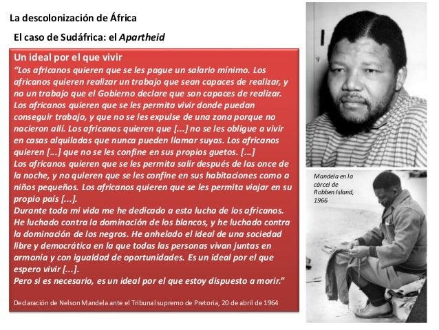La descolonización de África El Gobierno sudafricano respondió a esta oposición con una represión extremadamente violenta:...