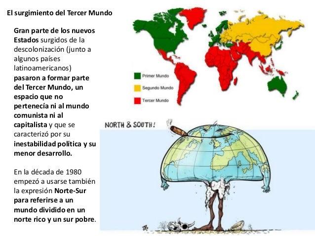 El surgimiento del Tercer Mundo. Características Pobreza y desigualdades sociales. Elevado crecimiento de la población (ex...