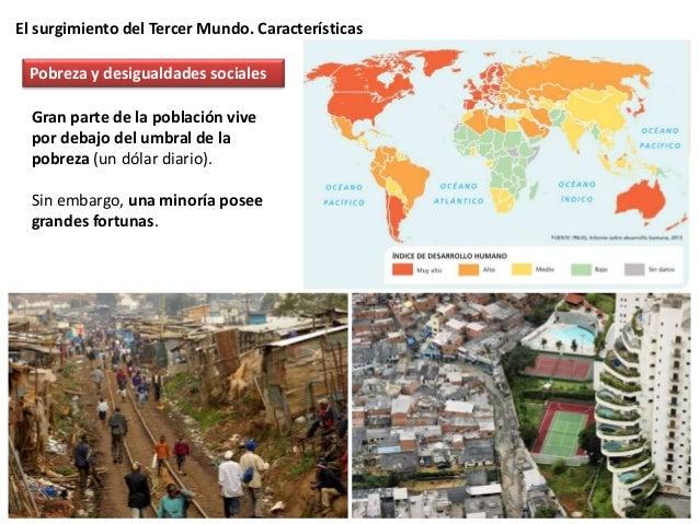El surgimiento del Tercer Mundo. Características