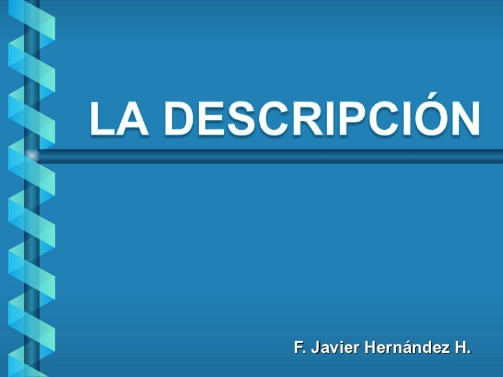 F. Javier Hernández H.