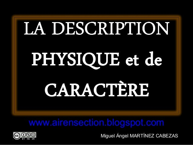 Description physique site de rencontre