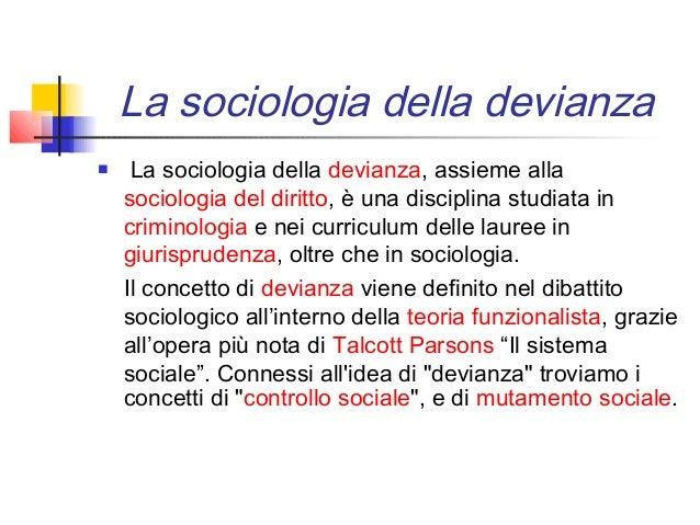 La devianza - Teoria delle finestre rotte sociologia ...