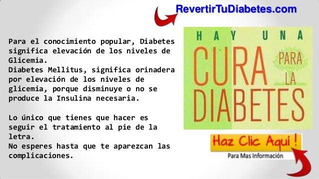 cura de la diabetes naturalmente