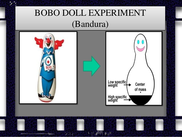 the bobo doll experiment and learning Home perspectives  behaviorism  social learning theory  bobo doll experiment bobo doll experiment by saul mcleod published 2011, updated 2014.