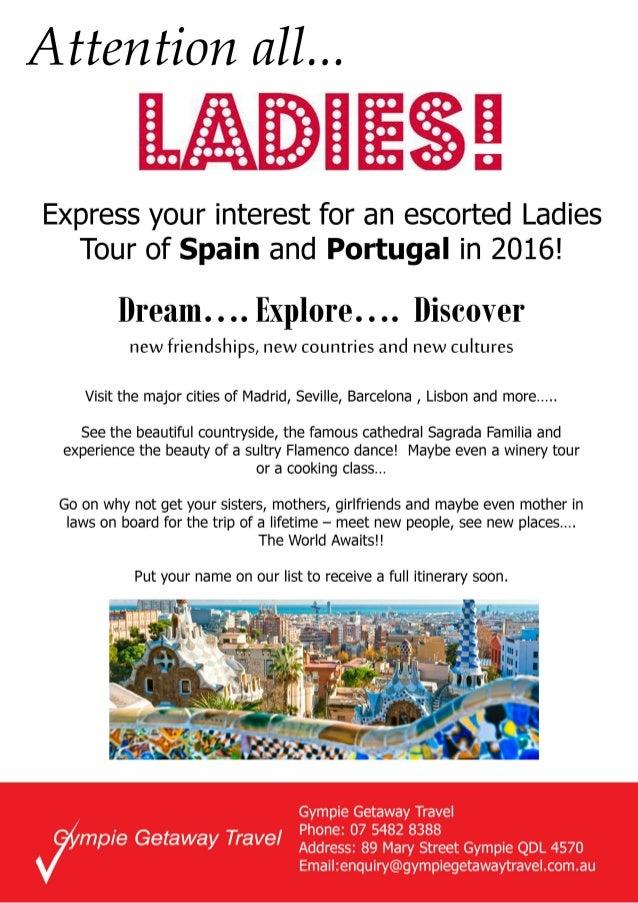 Ladies on tour 1