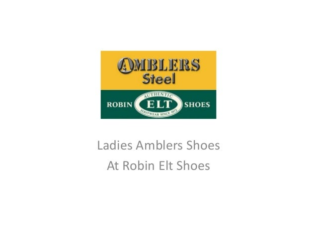 Ladies Amblers Shoes  At Robin Elt Shoes