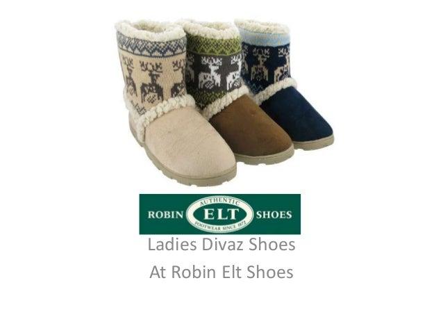 Ladies Divaz ShoesAt Robin Elt Shoes
