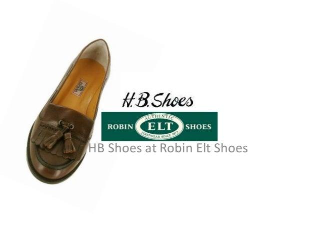 HB Shoes at Robin Elt Shoes